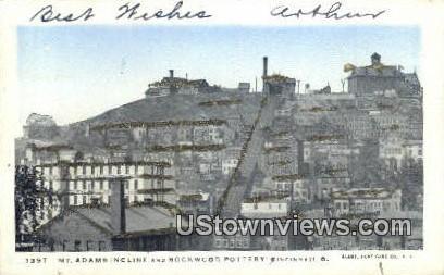 Mt Addams Incline - Cincinnati, Ohio OH Postcard