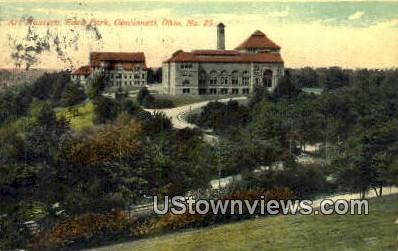 Art Museum, Eden Park - Cincinnati, Ohio OH Postcard