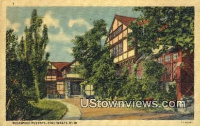 Rookwood Pottery - Cincinnati, Ohio OH Postcard