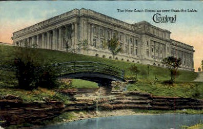 The New Court House - Cleveland, Ohio OH Postcard