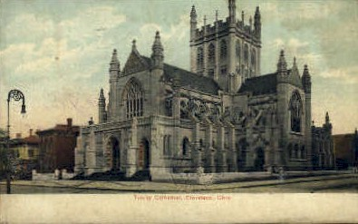 Trinity Cathedral - Cleveland, Ohio OH Postcard