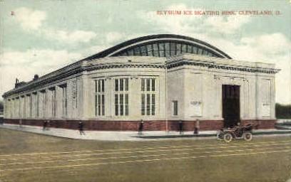 Elysium Ice Skating Rink - Cleveland, Ohio OH Postcard