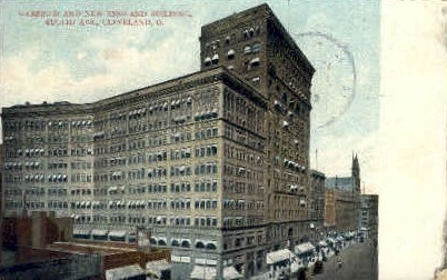 Garfield and New England Building - Cleveland, Ohio OH Postcard