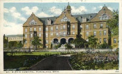 St. Alexis Hospital - Cleveland, Ohio OH Postcard