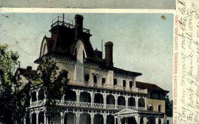 John D. Rockefeller's Residence, Forest Hill - Cleveland, Ohio OH Postcard