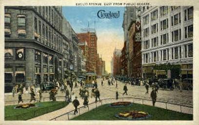 Euclid Ave. - Cleveland, Ohio OH Postcard