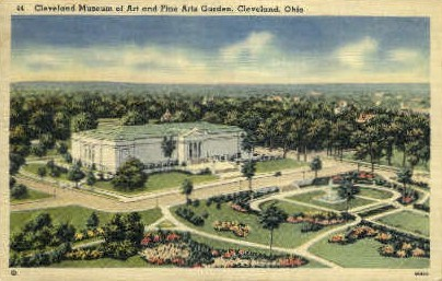 Cleveland Museum of Art  - Ohio OH Postcard