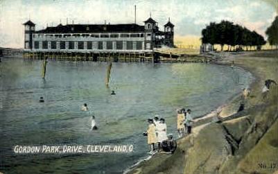 Gordon Park, Drive - Cleveland, Ohio OH Postcard