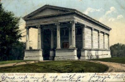 Wade Memorial Chapel - Cleveland, Ohio OH Postcard