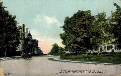 Euclid Heights - Cleveland, Ohio OH Postcard