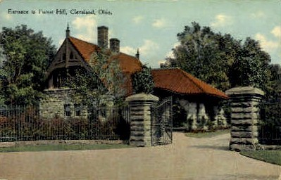 Forest Hill - Cleveland, Ohio OH Postcard