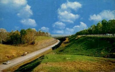 Ohio's Turnpike - Cleveland Postcard