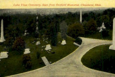 Lake View Cemetery, Garfield Memorial - Cleveland, Ohio OH Postcard