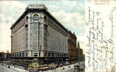 Rose Building - Cleveland, Ohio OH Postcard