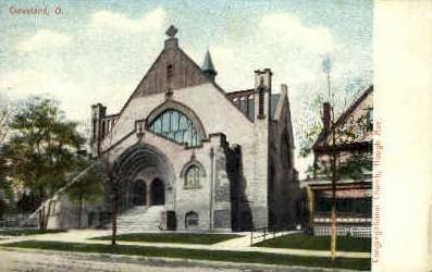 Congregational Church - Cleveland, Ohio OH Postcard
