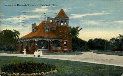 Riverside Cemetery - Cleveland, Ohio OH Postcard