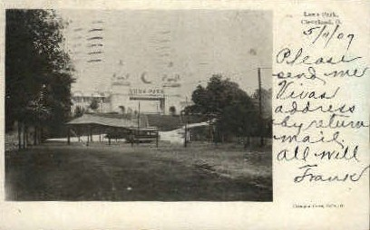 Luna Park - Cleveland, Ohio OH Postcard