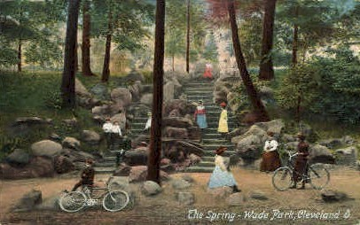 The Spring, Wade Park - Cleveland, Ohio OH Postcard