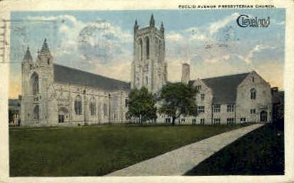 Euclid Avenue Presbyterian Church - Cleveland, Ohio OH Postcard
