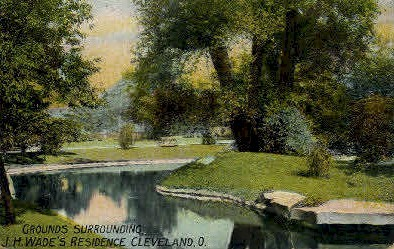 J. H. Wade's Residence - Cleveland, Ohio OH Postcard