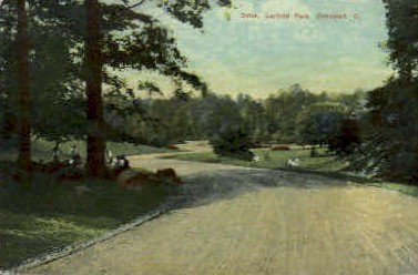 Drive, Garfield Park - Cleveland, Ohio OH Postcard