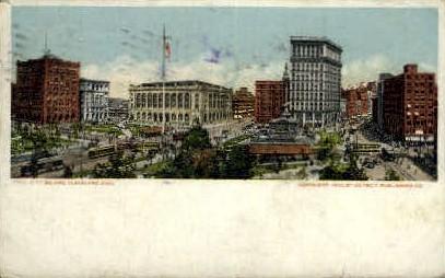 City Square - Cleveland, Ohio OH Postcard