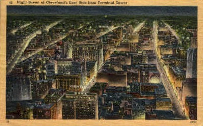 Terminal Tower - Cleveland, Ohio OH Postcard