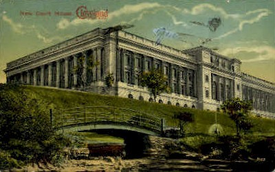 New Court House - Cleveland, Ohio OH Postcard