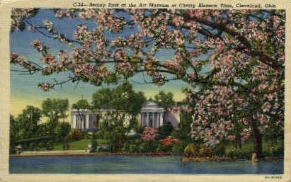 Art Museum - Cleveland, Ohio OH Postcard