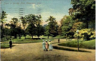 Gordon Park - Cleveland, Ohio OH Postcard