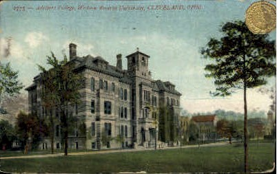 Adelbert College - Cleveland, Ohio OH Postcard