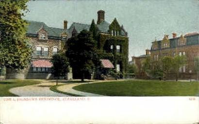Tom L. Johnson's Residence - Cleveland, Ohio OH Postcard