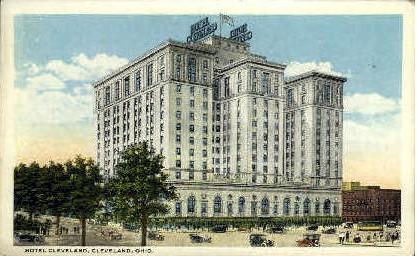 Hotel Cleveland - Ohio OH Postcard