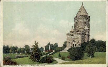 Garfield Memorial - Cleveland, Ohio OH Postcard