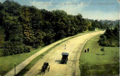 Lower Drive - Cleveland, Ohio OH Postcard