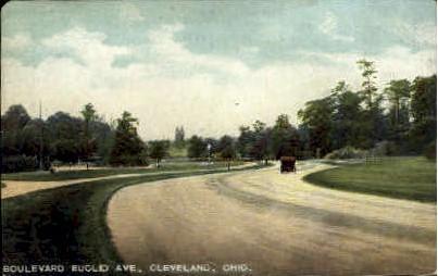 Boulevard Euclid Ave. - Cleveland, Ohio OH Postcard