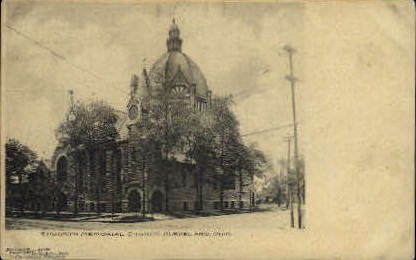 Epworth Memorial Church - Cleveland, Ohio OH Postcard