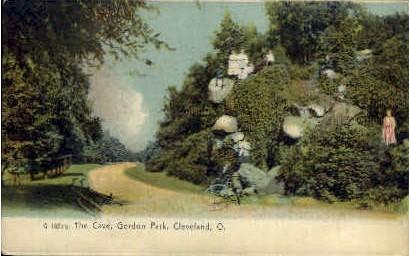 The Cave, Gordon Park - Cleveland, Ohio OH Postcard