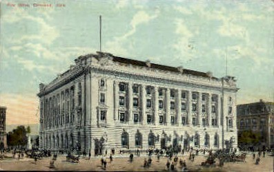 Post Office - Cleveland, Ohio OH Postcard
