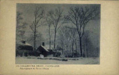 Edgewater Drive - Cleveland, Ohio OH Postcard