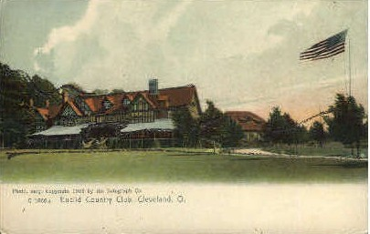 Euclid Country Club - Cleveland, Ohio OH Postcard