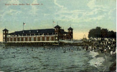 Bathing Scene, Gordon Park - Cleveland, Ohio OH Postcard