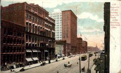 Superior Street - Cleveland, Ohio OH Postcard