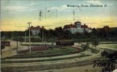 University Circle - Cleveland, Ohio OH Postcard