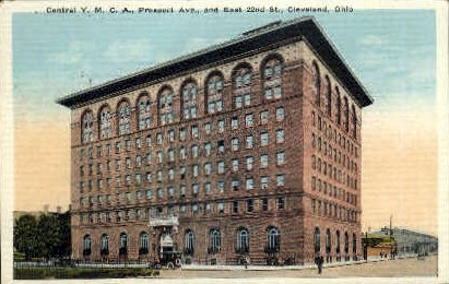 Central Y. M. C. A. Building - Cleveland, Ohio OH Postcard