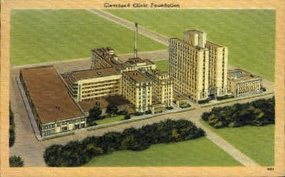 Cleveland Clinic Foundation - Ohio OH Postcard
