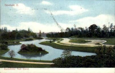Rockefeller Park - Cleveland, Ohio OH Postcard