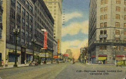 Playhouse Square - Cleveland, Ohio OH Postcard