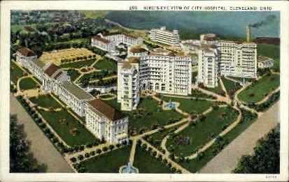 City Hospital - Cleveland, Ohio OH Postcard