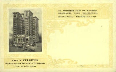 The Citizens - Cleveland, Ohio OH Postcard